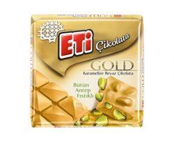 Eti Gold Antep Fıstıklı Kare Çikolata 60 gr