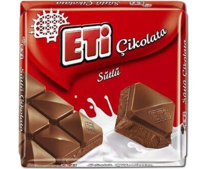 Eti Sütlü Kare Çikolata 65 gr