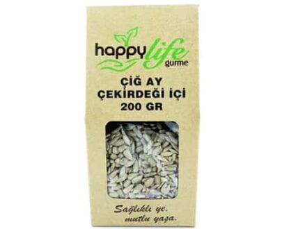 Happy Life Organik Çiğ Ay Çekirdeği 200 Gr
