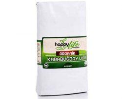 Happy Life Organik Kara Buğday Unu 1000 Gr