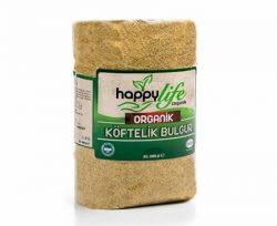 Happy Life Organik Köftelik Bulgur 1000 Gr