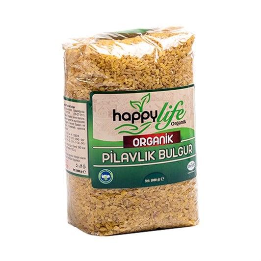 happy life organik pilavlik bulgur 1 k e6f 5e