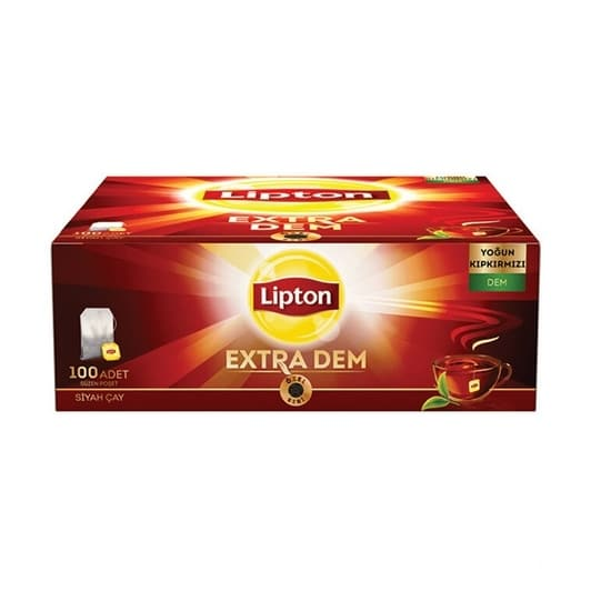 Lipton Extra Demlik 100'lü Bardak Çay 200 gr