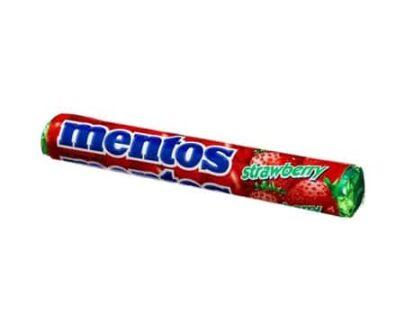Mentos Stick Şeker Çilekli 37.5 Gr