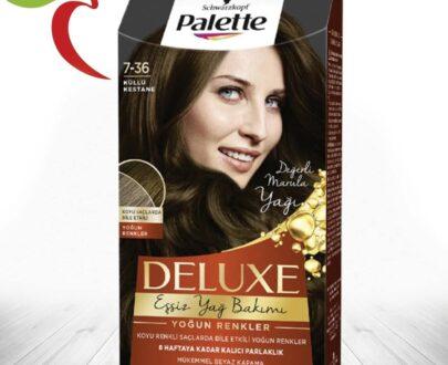 Palette Saç Boyası Deluxe 7-36 Küllü Kestane