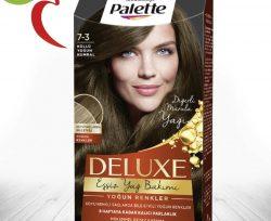 Palette Saç Boyası Deluxe Küllü Yoğun Kumral 7-3