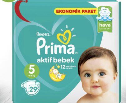 Prima Aktif Paket Bebek Bezi 5 No 28'Li
