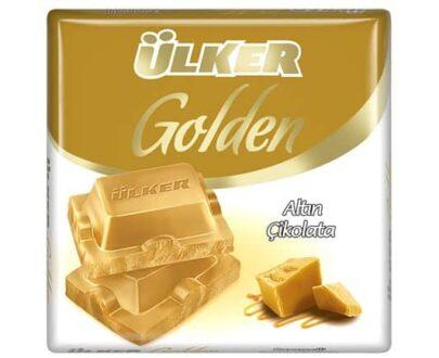 Ülker Golden Beyaz Kare Çikolata 60 gr