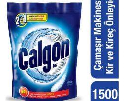 Calgon Kireç Önleyici Çamaşır Makinesi 1500 gr