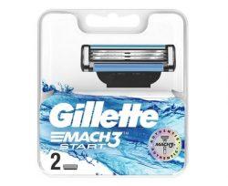 Gillette Mach3 Start Yedek Tıraş Bıçağı 2'li