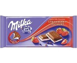 Milka Tablet Çikolata Çilek 100 Gr