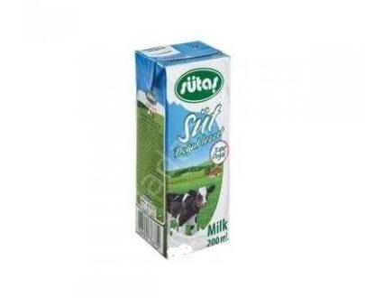 Sütaş Süt Yarım Yağlı 200 ml