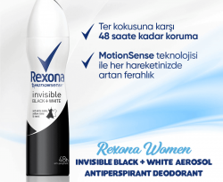 Rexona Invisible On Black & White Clothes Kadın Deodorant 200 ml
