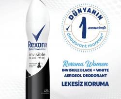 RexonaInvisible On Black & White Clothes Kadın Deodorant 200 ml