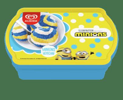 algida minions 750 gr kap dondurma